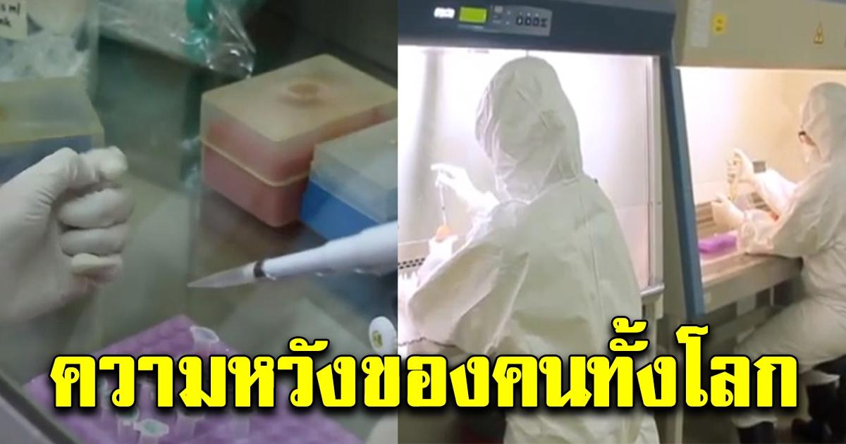 สื่อต่างชาติชื่นชมไทย เริ่มทดสอบวัคซีน โควิด-19  กลายเป็นความหวังของผู้คนทั่วโลก